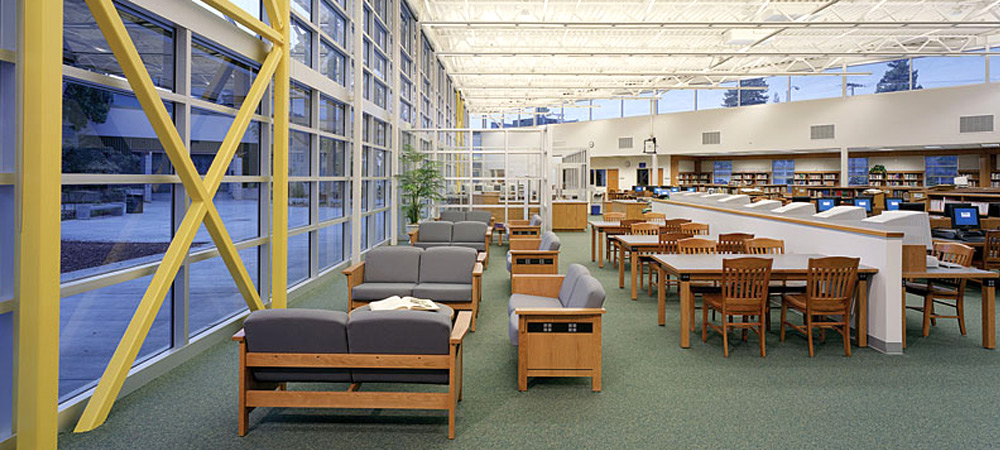 Homestead Library interior
